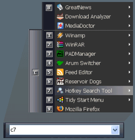 Vista-XP Start Menu 2.65 